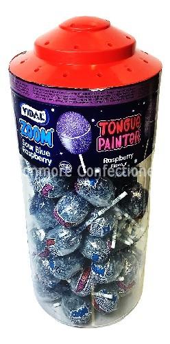 Mega Zoom Tongue Painter Lolly (Vidal) 50 Count