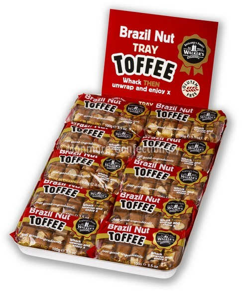 BRAZIL NUT TOFFEE TRAY PACK (WALKERS NONSUCH) 10 COUNT