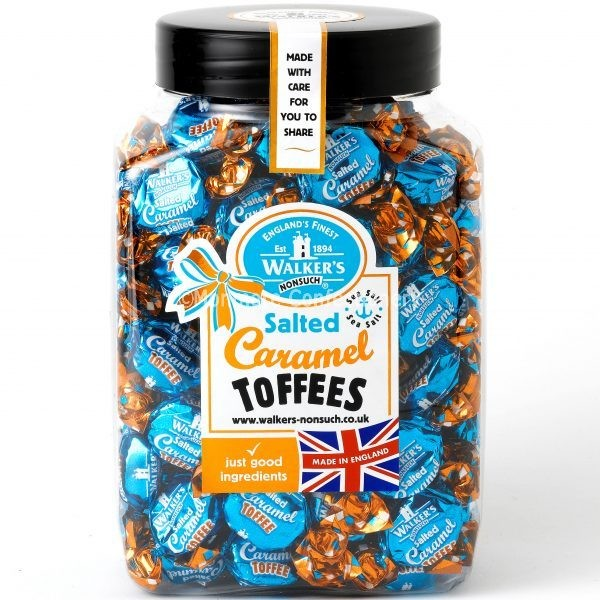 Salted Caramel Toffees (Walkers NonSuch) 1.25kg