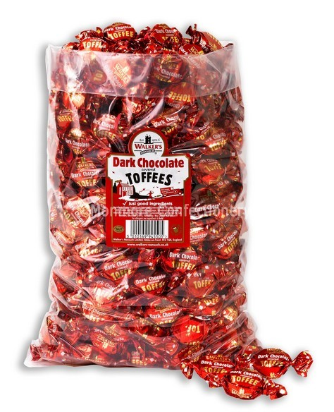 DARK CHOCOLATE COVERED TOFFEES (WALKERS NONSUCH) 2.5Kg
