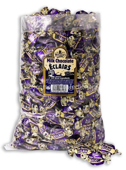 walkers nonsuch milk chocolate eclairs 2.5kg bag