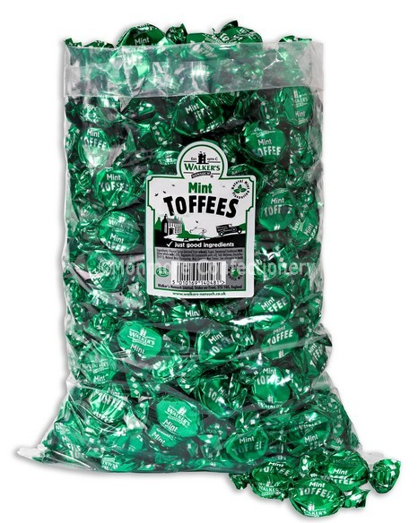 MINT TOFFEES (WALKERS NON SUCH) 2.5KG