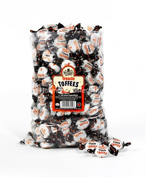 walkers nonsuch treacle tabs toffees 2.5kg bag