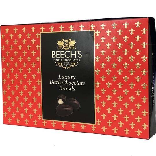 Dark Chocolate Brazils Gift Box (Beeches) 145g