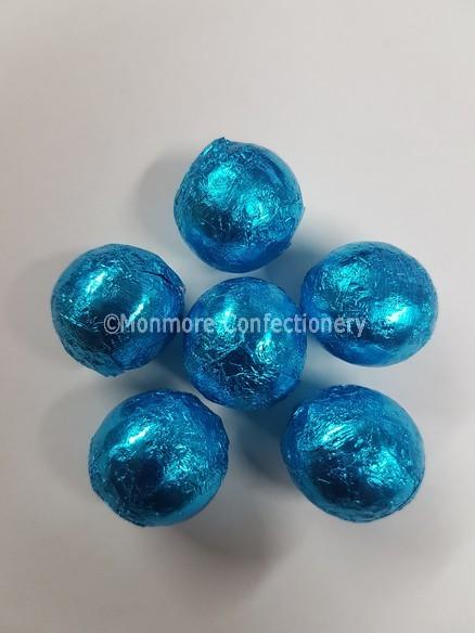 blue chocolate balls 3kg