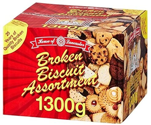 House Of Lancaster Broken Biscuit Assortment 1300g