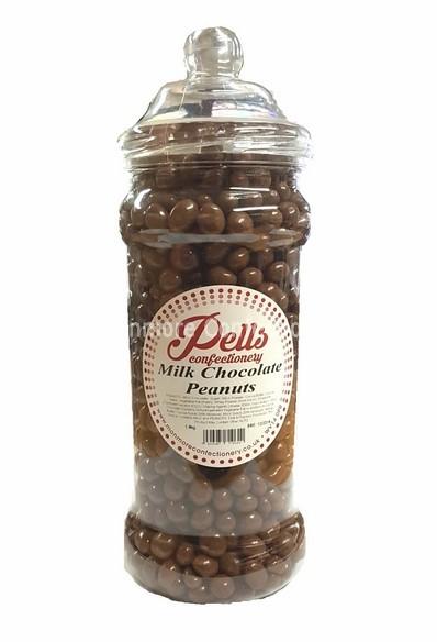 Chocolate Peanuts Jar (Pells) 1.8kg