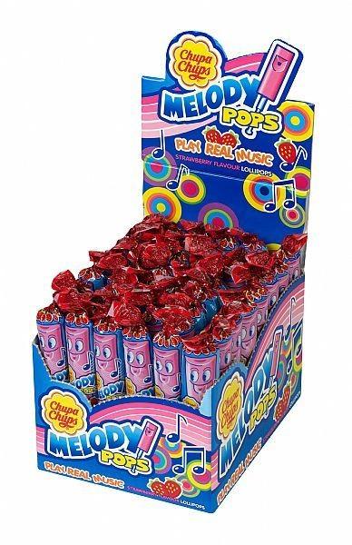 Chupa Chups Melody Pops Musical Lollipops 48x15g
