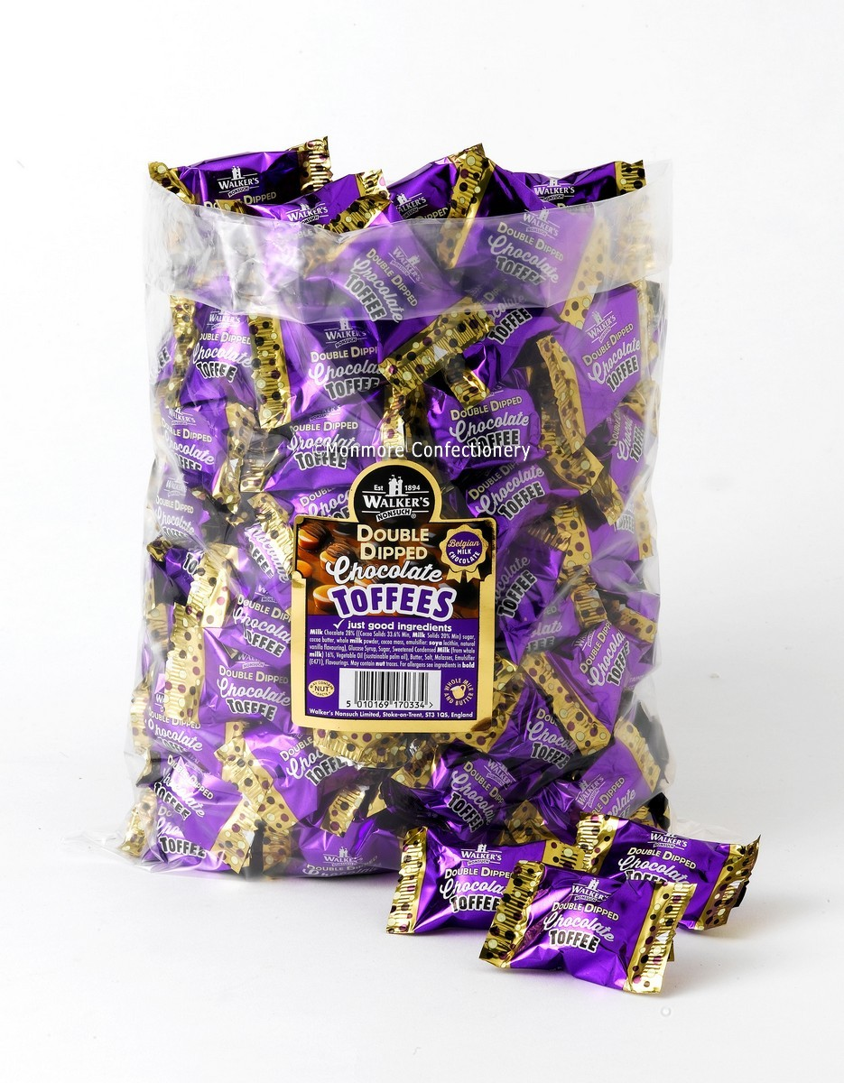 Double Dipped Chocolate Toffees (Walker's Nonsuch) 2kg