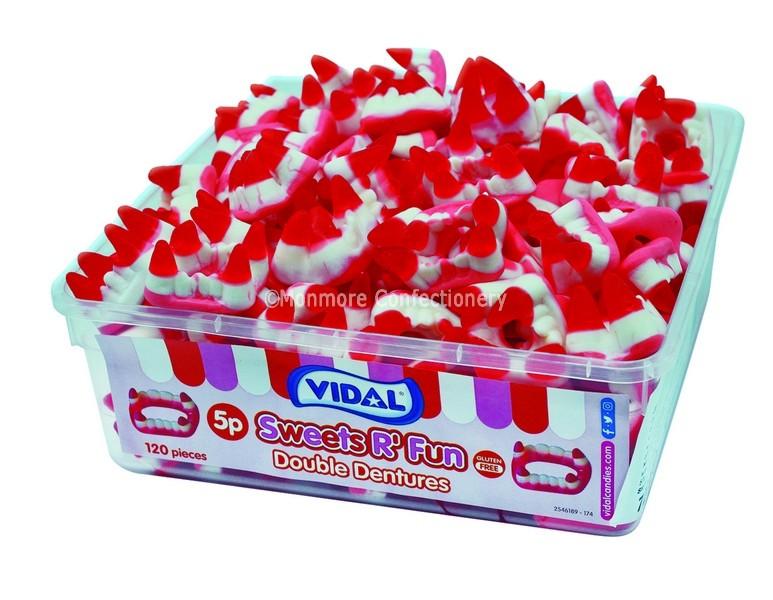 Double Dentures Tub (Vidal) 120 Count
