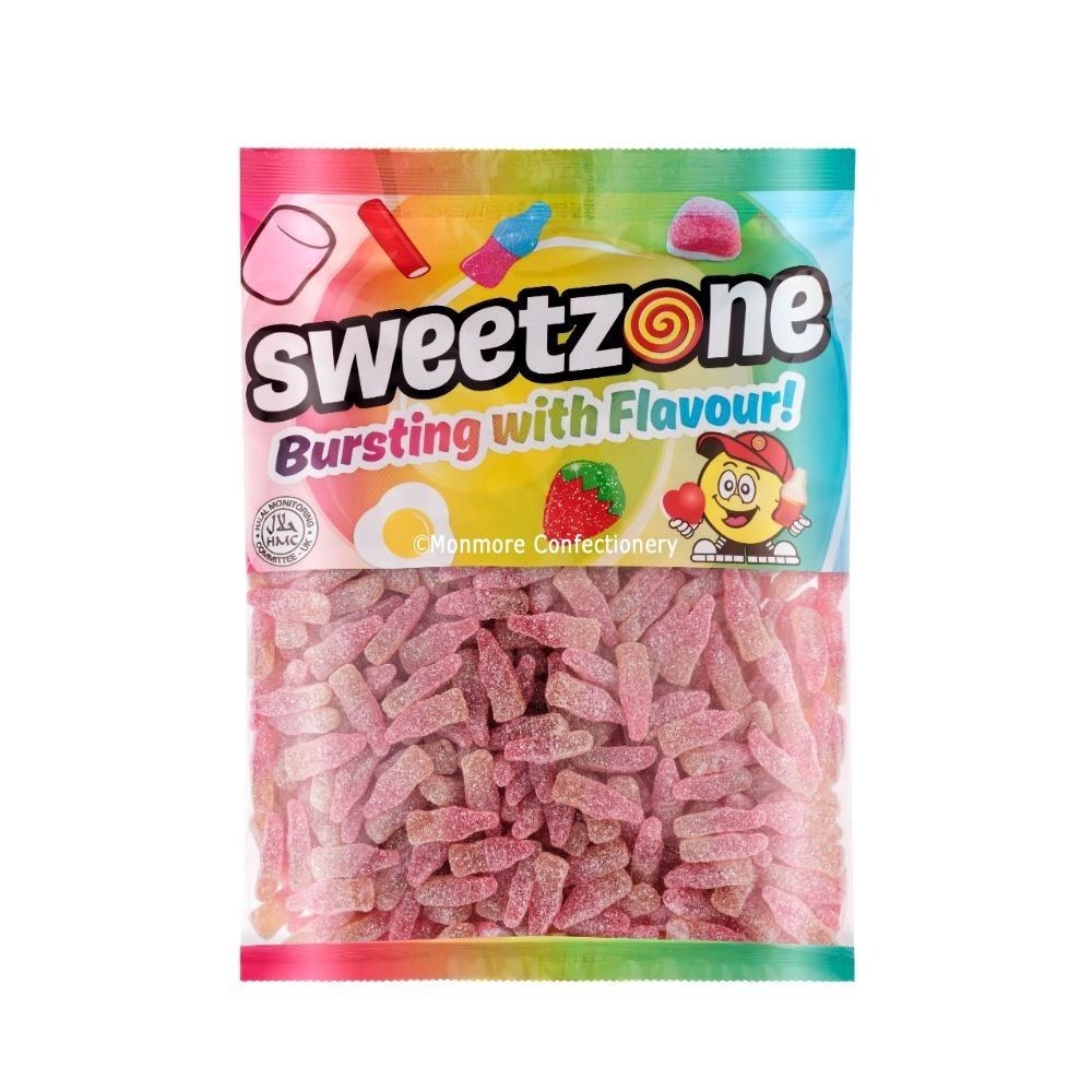 Fizzy Cherry Cola Bottles (Sweetzone) 1kg Bag