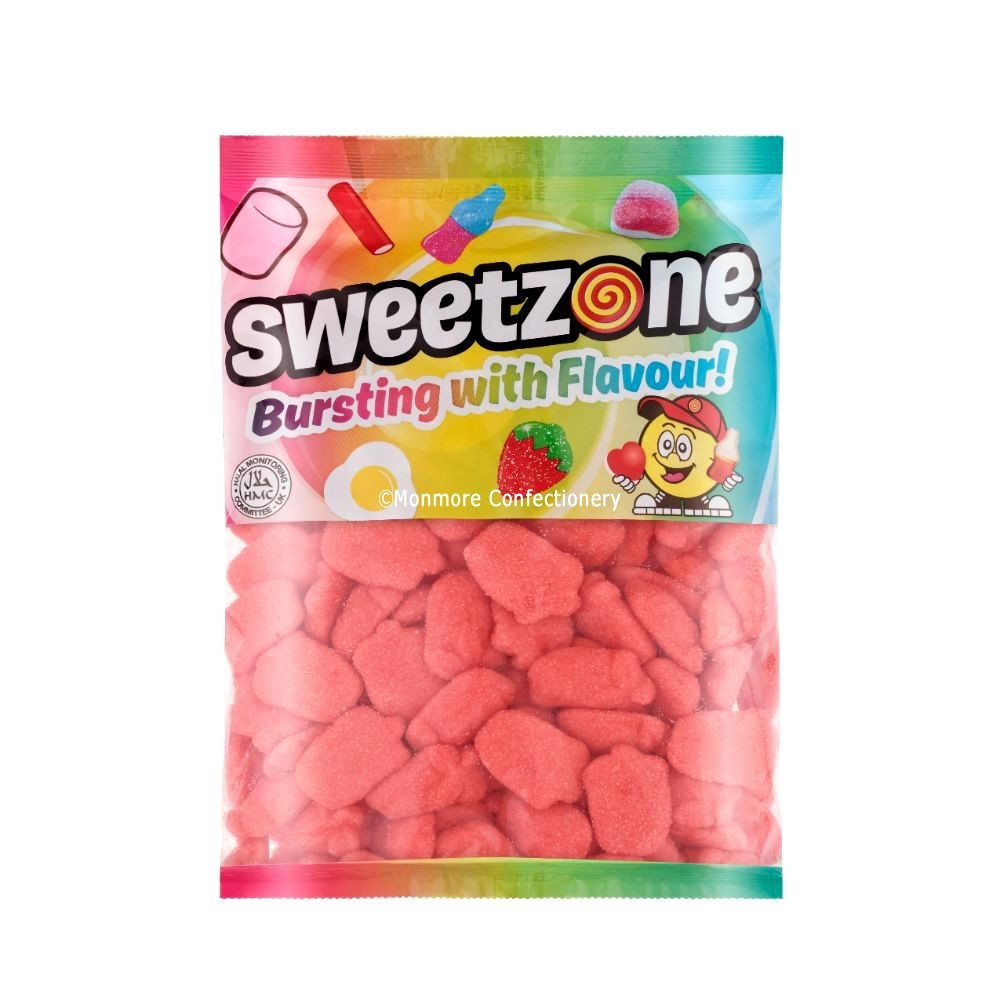 Fizzy Foam Strawberries (Sweetzone) 1kg