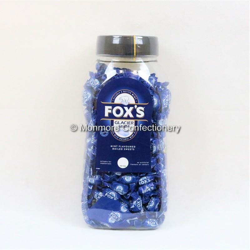 Glacier Mints Jar (Fox's) 1.7kg - wm