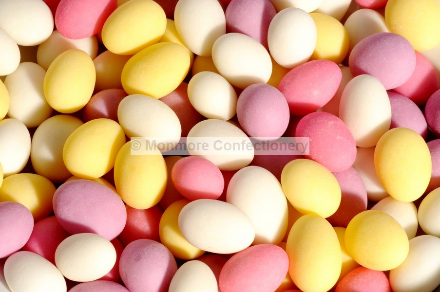 SUGARED ALMONDS (GLISTEN) 3KG