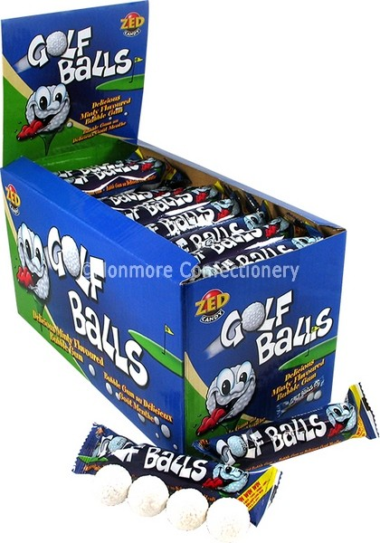 BUBBLEKING GOLF BALLS (ZED CANDY) 45 COUNT