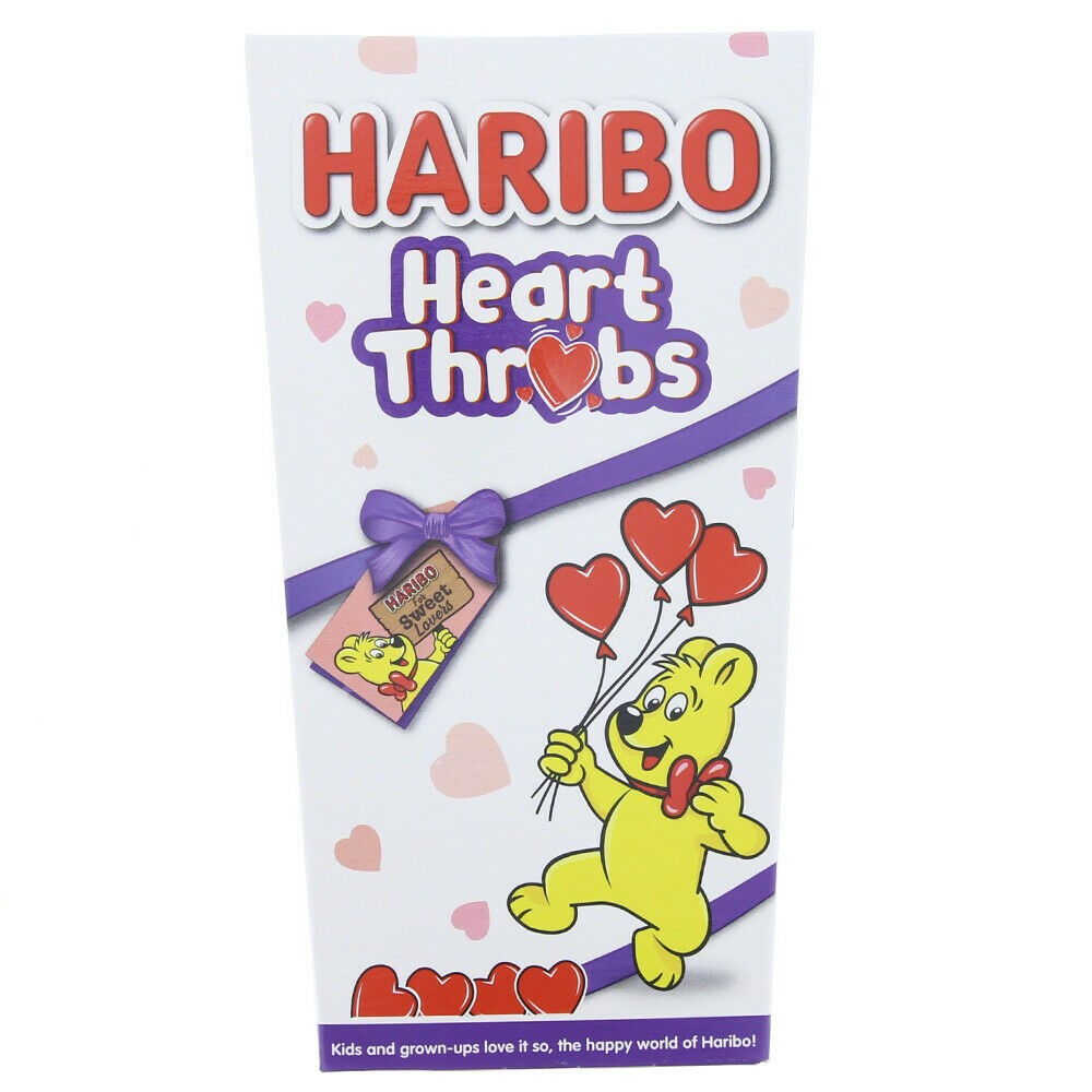 Haribo Heart Throbs Christmas Gift Box 140g