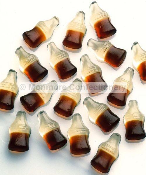 happy cola bottles tub haribo 300 count monmore confectionery