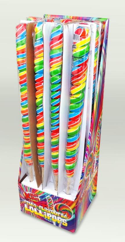 Kandy Kandy Tall Twister Lollies 16 x 125g