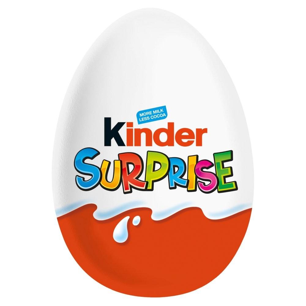 Kinder Surprise Egg & Toy 72x20g Pack