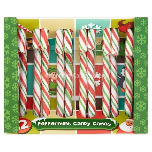 Let It Snow Candy Canes (Kingsway) 12 Count