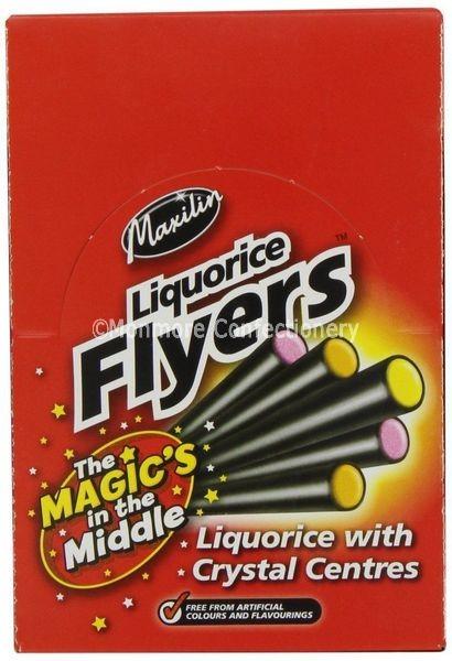 Liquorice Flyers (Maxilin) 40 Count