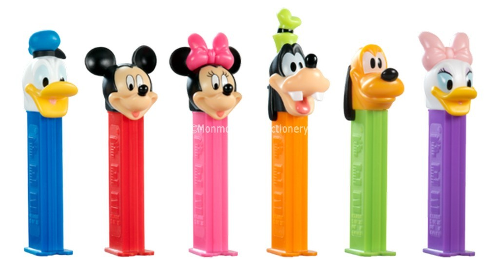 Pez Mickeys Clubhouse (Pez Candy) 12 Count