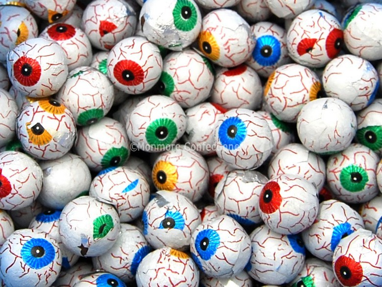 Milk Chocolate Eyeballs (Kinnerton) 3kg
