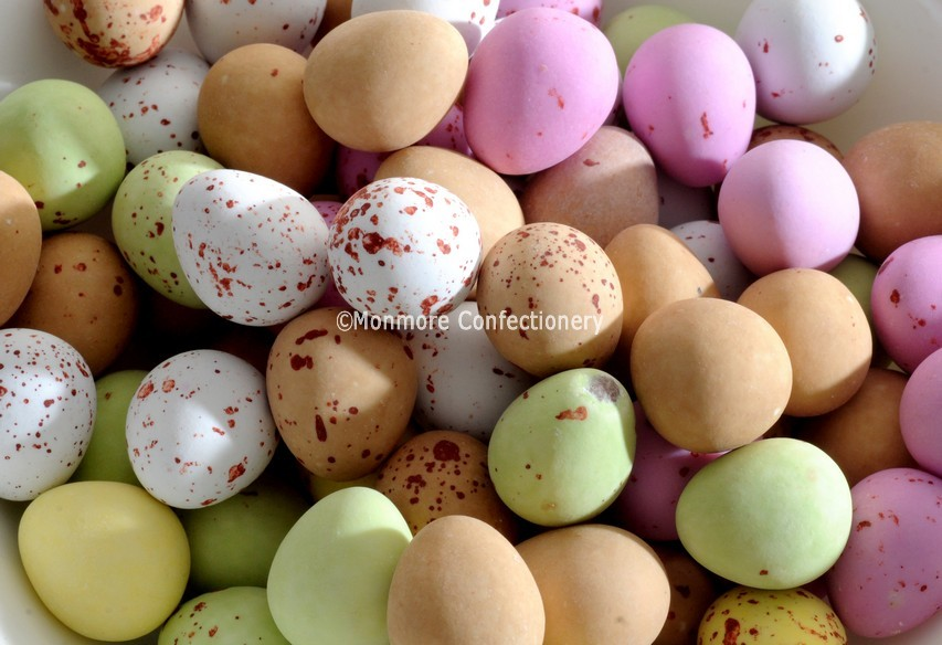 MILK CHOCOLATE MINI EGGS (GLISTEN) 3KG