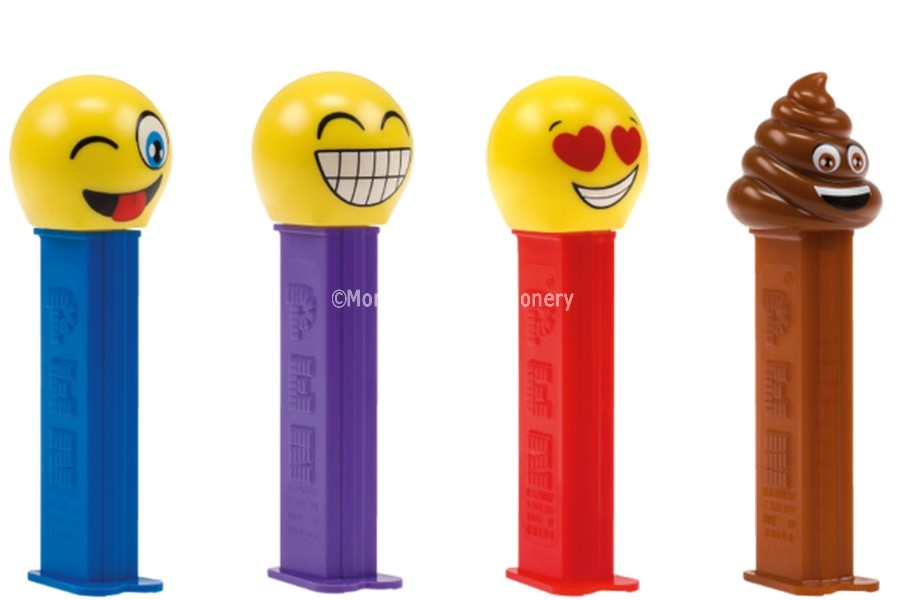 PEZ EMOJI FACE (PEZ CANDY) 12 COUNT