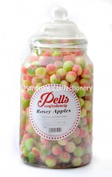 Traditional rosey apple sweet jar