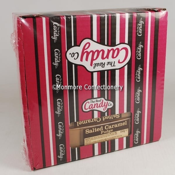 Salted Caramel Fudge Real Candy Co Image with Watermark