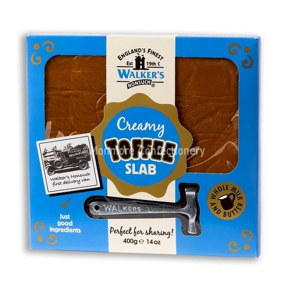 Walkers Nonsuch Original Creamy Toffee 400g Slab