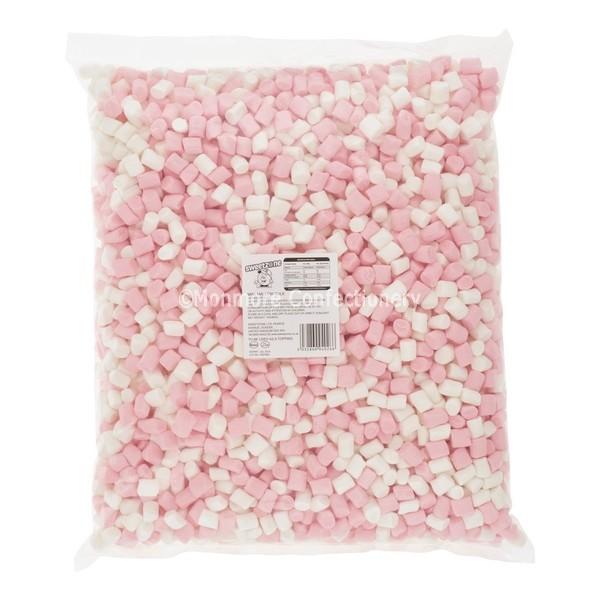 MINI PINK & WHITE MALLOWS (SWEETZONE) 1KG