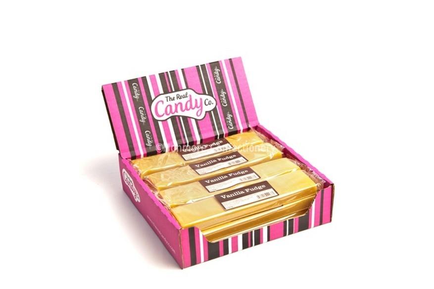 Vanilla fudge bars