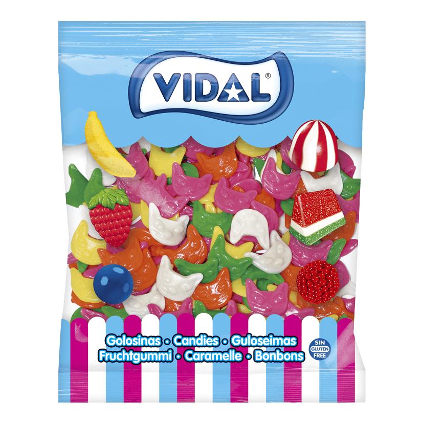 Jelly Cat Heads 1.5kg (Vidal)