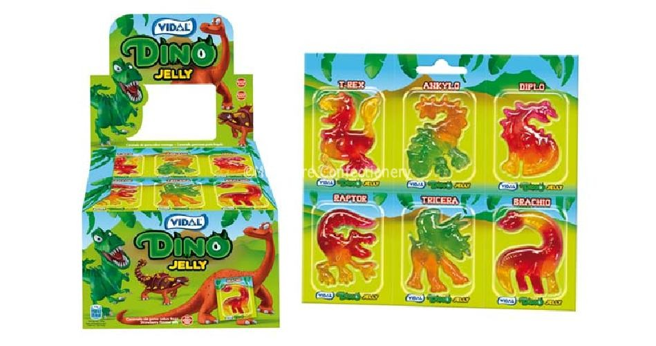 Dino Jelly (Vidal) 66 Count