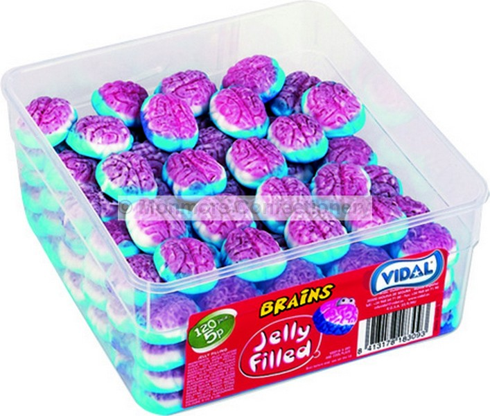 JELLY FILLED BRAIN (VIDAL) 120 COUNT