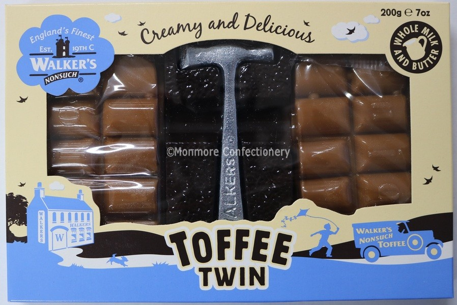 WALKERS NONSUCH ORIGINAL TOFFEE TWIN PACK 200G