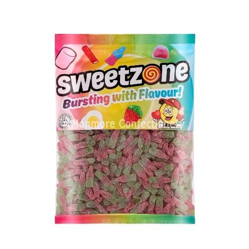 Fizzy Watermelon Bottles (Sweetzone) 1kg Bag