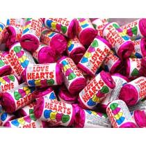 100 love hearts
