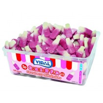 Strawberry Milkshakes Tub (Vidal) 120 Count