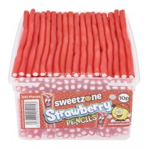 Strawberry Pencils (Sweetzone) 100 Count