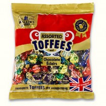 Assorted Toffees and eclairs (Walkers Nonsuch) 1kg