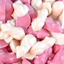 Pink & White Mice Mix 1kg