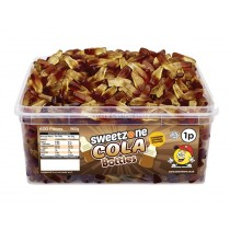 COLA BOTTLES TUB (SWEETZONE) 600 COUNT