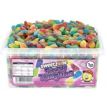 Fizzy Tongues Tub (Sweetzone) 600 Count