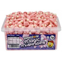 Magic Mushrooms Tub (Sweetzone) 600 Count