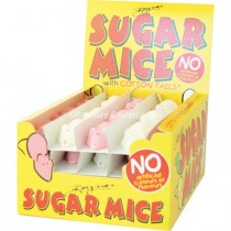 Pink & White Sugared Mice (Boynes) 60 Count