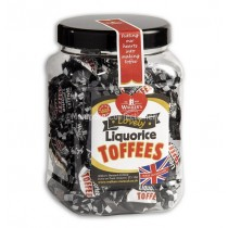 450g walkers liquorice toffee jar
