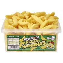 Fizzy Bananas Tub (Sweetzone) 120 Count
